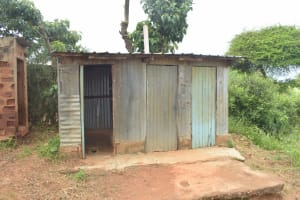 The Water Project: Mung'alu Primary School -  Girls Latrines