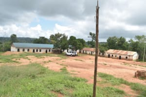 The Water Project: Mung'alu Primary School -  School Grounds