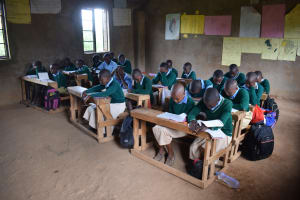The Water Project: Mung'alu Primary School -  Students In Class