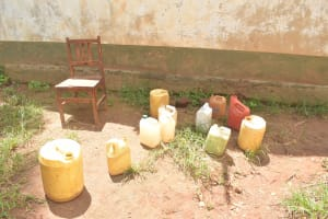 The Water Project: Mung'alu Primary School -  Water Storage Containers