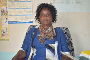 The Water Project: Mung'alu Primary School -  Winfred Mututa Head Teacher