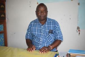 The Water Project: Ndithi Primary School -  Justus Mbuvi Deputy Head Teacher