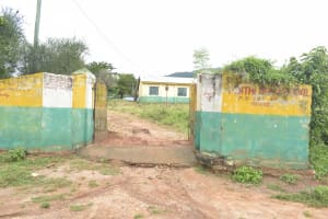 The Water Project: Ndithi Primary School -  School Gate And Sign