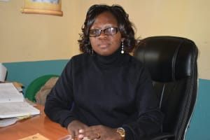 The Water Project: Mutwaathi Secondary School -  Mrs Kyalo Principal