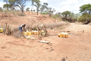 The Water Project: Mutwaathi Secondary School -  Open Well