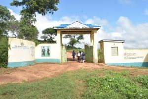 The Water Project: Mutwaathi Secondary School -  School Gate