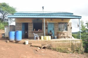 The Water Project: Mutwaathi Secondary School -  School Kitchen