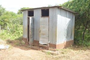 The Water Project: Kalatine Primary School -  Boys Latrines