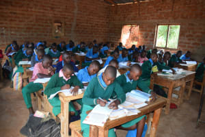 The Water Project: Kalatine Primary School -  Students In Class
