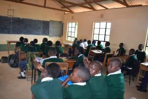The Water Project: Mukuku Mixed Secondary School -  Class