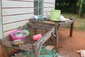 The Water Project: Mukuku Mixed Secondary School -  Dishrack