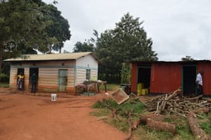 The Water Project: Mukuku Mixed Secondary School -  Kitchen Buildings