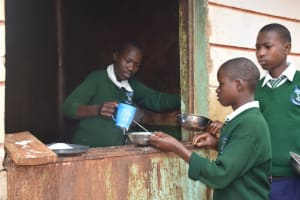 The Water Project: Mukuku Mixed Secondary School -  Lunch Time