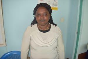 The Water Project: Mukuku Mixed Secondary School -  Miriam Nduku Maasia Deputy Principal