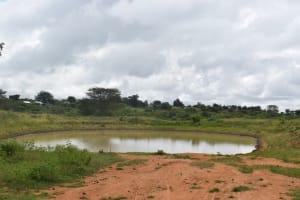 The Water Project: Mukuku Mixed Secondary School -  Rock Dam Water Source