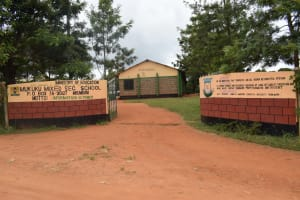 The Water Project: Mukuku Mixed Secondary School -  School Gate