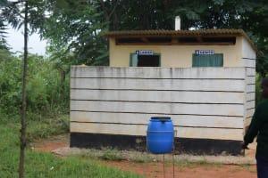 The Water Project: Mukuku Mixed Secondary School -  Staff Latrines