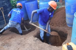 The Water Project: Transmitter, #14 Port Loko Road -  Groundbreaking Before Drilling