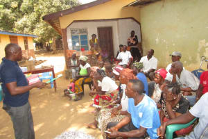The Water Project: Transmitter, #14 Port Loko Road -  Toothbrushing Lesson
