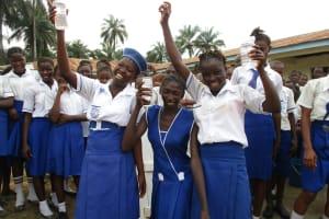 The Water Project: Lokomasama, Musiya, Nelson Mandela Secondary School -  Celebrating The Well