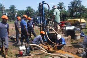 The Water Project: Lokomasama, Musiya, Nelson Mandela Secondary School -  Drilling