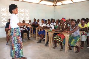 The Water Project: Lokomasama, Musiya, Nelson Mandela Secondary School -  Handwashing Lesson