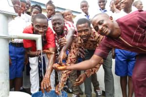 The Water Project: Lokomasama, Musiya, Nelson Mandela Secondary School -  School Staff At Their New Well