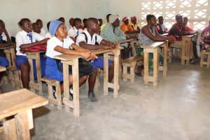The Water Project: Lokomasama, Musiya, Nelson Mandela Secondary School -  Students At The Training