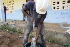 The Water Project: Lokomasama, Musiya, Nelson Mandela Secondary School -  Testing Cylinder