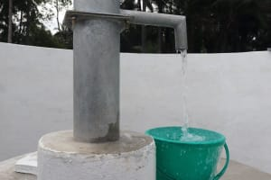 The Water Project: Lokomasama, Bompa, DEC Bompa Primary School -  Clean Water Flowing