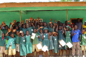 The Water Project: Lokomasama, Bompa, DEC Bompa Primary School -  Students After The Training