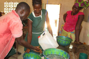 The Water Project: Lokomasama, Bompa, DEC Bompa Primary School -  Students Participate In Handwashing Activity