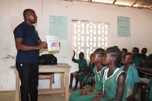 The Water Project: Lokomasama, Bompa, DEC Bompa Primary School -  Training Materials