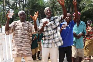 The Water Project: Lokomasama, Bompa, DEC Bompa Primary School -  Well Celebration