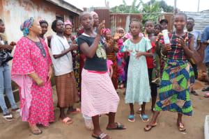 The Water Project: Lungi, Rotifunk, 1 Aminata Lane -  Celebrating At The New Well