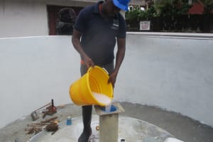 The Water Project: Lungi, Rotifunk, 1 Aminata Lane -  Chlorination