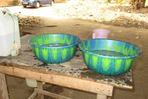 The Water Project: Lungi, Rotifunk, 1 Aminata Lane -  Handwashing Activity Center