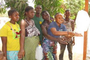The Water Project: Lungi, Rotifunk, 1 Aminata Lane -  Handwashing At The New Tippy Tap