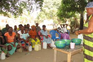 The Water Project: Lungi, Rotifunk, 1 Aminata Lane -  Handwashing Discussion