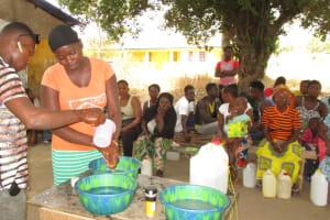 The Water Project: Lungi, Rotifunk, 1 Aminata Lane -  Handwashing