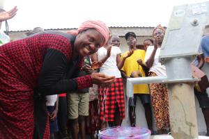 The Water Project: Lungi, Rotifunk, 1 Aminata Lane -  Happy Community Member
