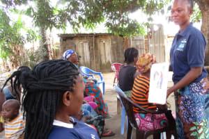 The Water Project: Lungi, Rotifunk, 1 Aminata Lane -  Hygiene Discussion
