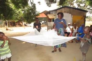 The Water Project: Lungi, Rotifunk, 1 Aminata Lane -  Mosquito Net
