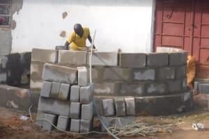 The Water Project: Lungi, Rotifunk, 1 Aminata Lane -  Pad Construction