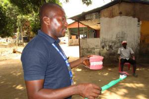 The Water Project: Lungi, Rotifunk, 1 Aminata Lane -  Toothbrushing Demonstration