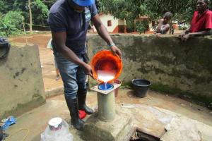 The Water Project: Lungi, Yaliba Village -  Chlorination