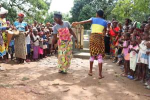 The Water Project: Lungi, Yaliba Village -  Dancing At The Dedication