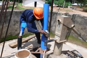 The Water Project: Lungi, Yaliba Village -  Drilling