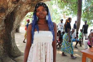 The Water Project: Lungi, Yaliba Village -  Kadiatu Kanu