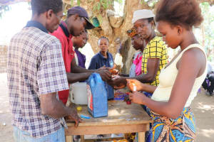 The Water Project: Lungi, Yaliba Village -  Tippy Tap Construction